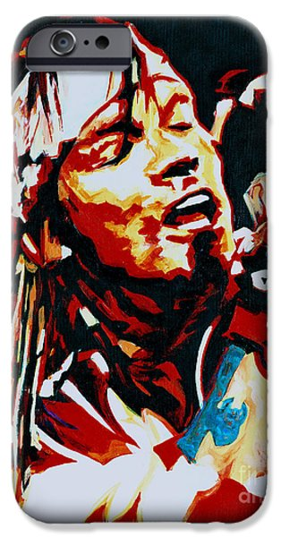 Axl Rose iPhone Cases - Axl Rose. Dont Cry iPhone Case by Tanya Filichkin
