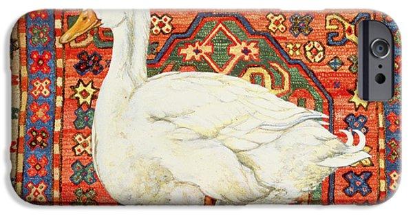 Persian Carpet iPhone Cases - Aylesbury Carpet Drake iPhone Case by Ditz