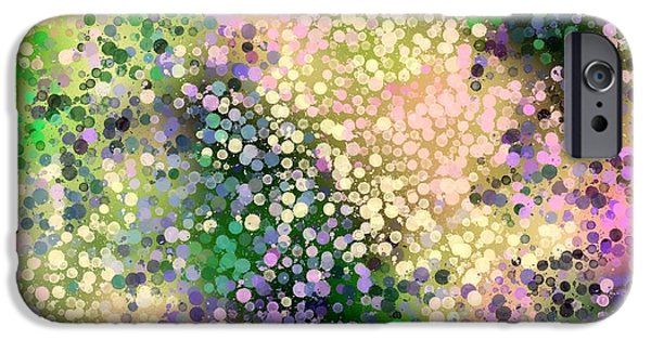 Abstract Digital Tapestries - Textiles iPhone Cases - Azelia Dreams iPhone Case by Suzi Freeman