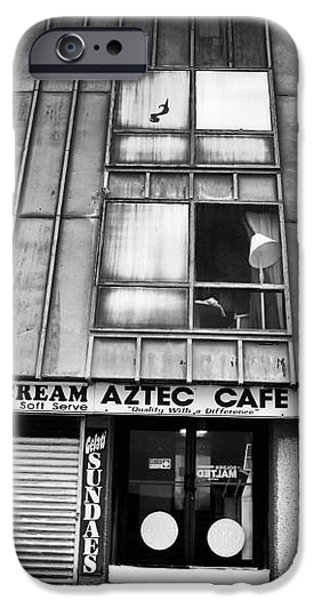 Aztec Cafe iPhone Case by John Rizzuto