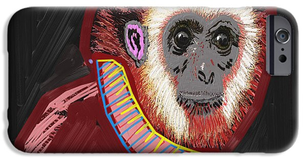 Christmas Greeting iPhone Cases - BA BA Monkey from the City by NavinJoshi at FineArtAmerica  iPhone Case by Navin Joshi