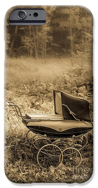 Buggy iPhone Cases - Babe In the Woods iPhone Case by Edward Fielding