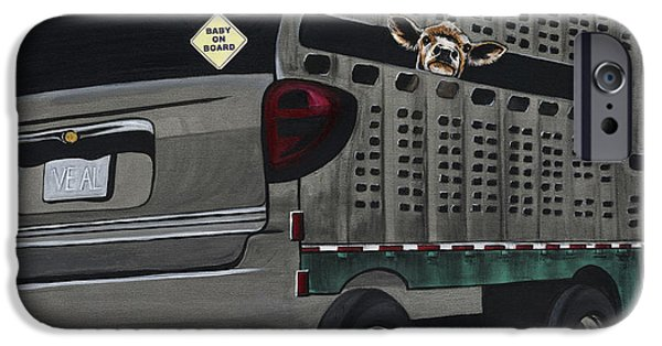 Advocacy iPhone Cases - Baby on Board iPhone Case by Twyla Francois