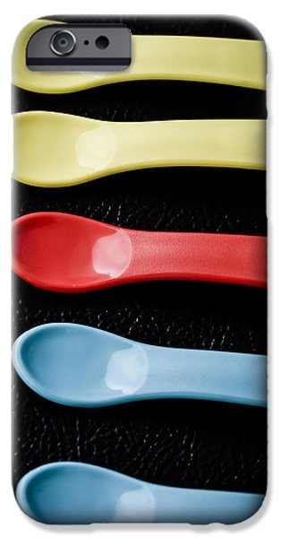 Work Tool iPhone Cases - Baby Spoon iPhone Case by Jijo George
