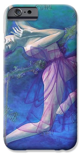 Back in time iPhone Case by Dorina  Costras