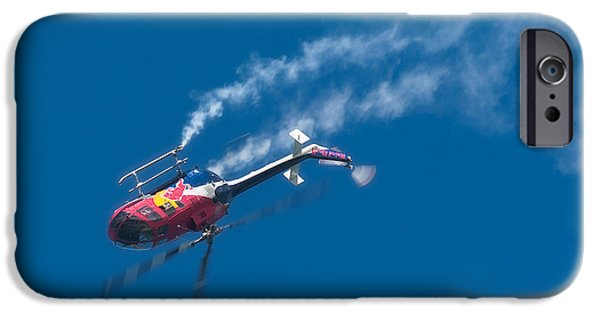 Helicopter iPhone Cases - Backflip iPhone Case by Sebastian Musial