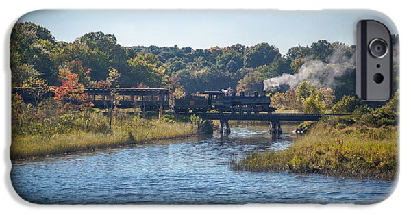 River iPhone Cases - Backing Up iPhone Case by Mark Beecher