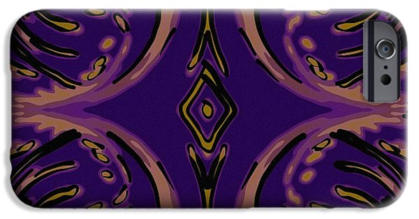 Abstract Design Tapestries - Textiles iPhone Cases - Balanced iPhone Case by Suzi Freeman