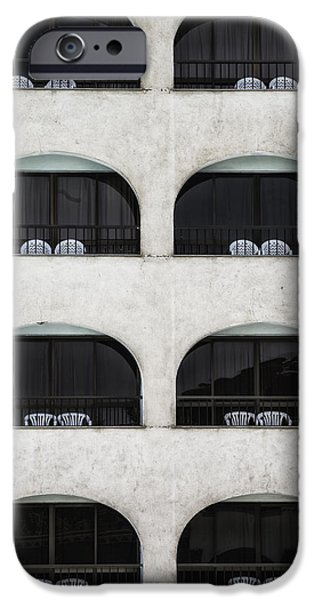 Furniture iPhone Cases - Balconies iPhone Case by Joana Kruse
