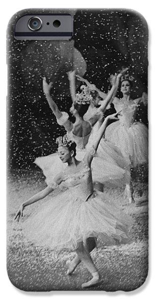 Ballet Dancers iPhone Cases - Ballerinas iPhone Case by Shirley Zeiberg