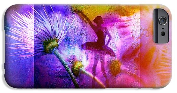 Ballet Dancers iPhone Cases - Ballett - Ballet iPhone Case by Nicole Frischlich