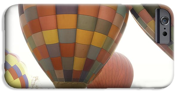 Asheville iPhone Cases - Balloon Day is a Happy Day iPhone Case by Rob Travis