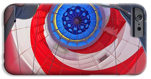 Freedom iPhone Cases - Balloon Fantasy 27 iPhone Case by Allen Beatty