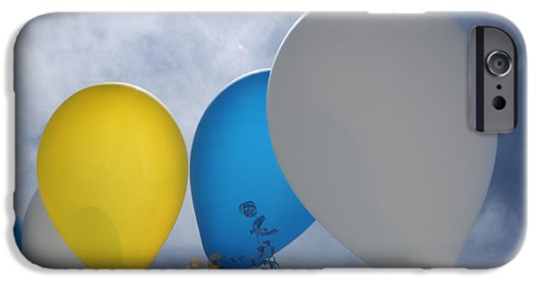 Helium iPhone Cases - Balloons iPhone Case by Patrick M Lynch