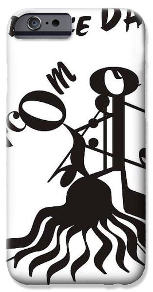 Ballroom iPhone Case by Maria Watt