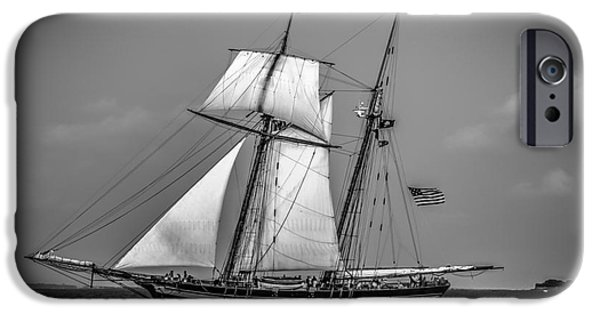 Sailboats iPhone Cases - Baltimore Pride iPhone Case by Dale Powell