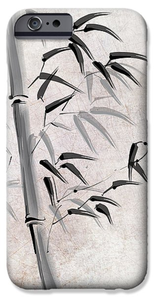 Bamboo Leaves iPhone Cases - BAMBOO is LIFE iPhone Case by Daniel Hagerman