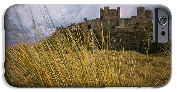 Sand Castles iPhone Cases - Bamburgh Dunes iPhone Case by Wilson Photographics