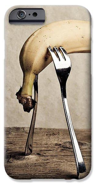 Banana iPhone Case by Nailia Schwarz