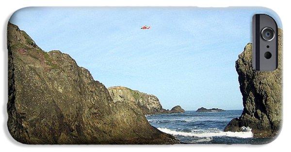 Coastguard iPhone Cases - Bandon 28 iPhone Case by Will Borden