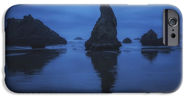 Eerie iPhone Cases - Bandon Blues iPhone Case by Peter Coskun
