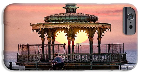 Bandstand iPhone Cases - Bandstand iPhone Case by Chris Lord
