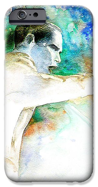 Barack Obama pointing at You iPhone Case by Miki De Goodaboom
