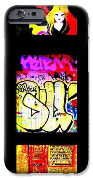 Barcelona Graffiti  iPhone Case by Funkpix Photo Hunter