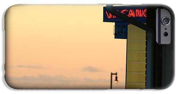 Ocean Sunset iPhone Cases - Bargain Ocean View iPhone Case by Sara Srubar-Erb