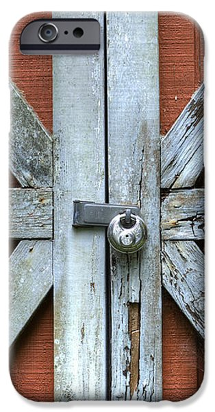Barn Door 1 iPhone Case by Dustin K Ryan
