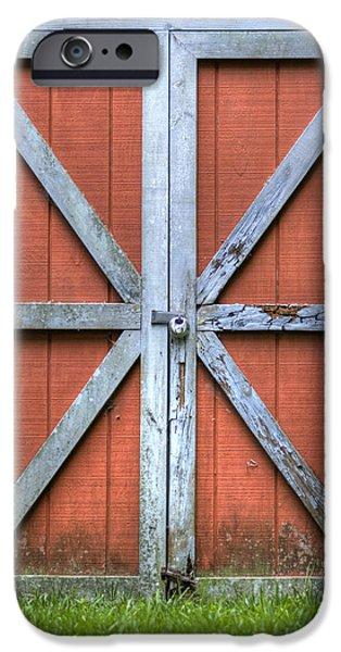 Barn Door 3 iPhone Case by Dustin K Ryan