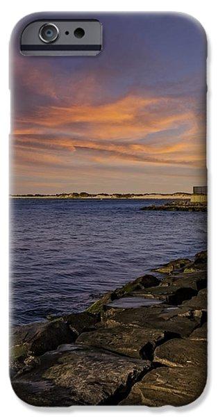 Landmark iPhone Cases - Barnegat Lighthouse iPhone Case by Susan Candelario
