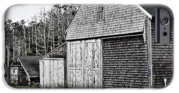 Old Barn iPhone Cases - Barns of Time iPhone Case by Marcia Lee Jones