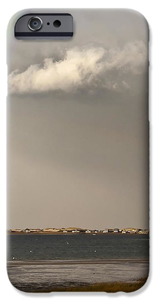 Barnstable Harbor Rainbow iPhone Case by Charles Harden