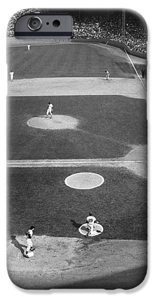 BASEBALL GAME, 1967 iPhone Case by Granger