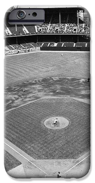 BASEBALL GAME, c1953 iPhone Case by Granger