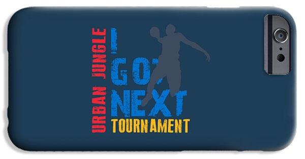 Dunk iPhone Cases - Basketball I Got Next 3 iPhone Case by Joe Hamilton