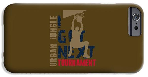 Nba iPhone Cases - Basketball I Got Next 4 iPhone Case by Joe Hamilton