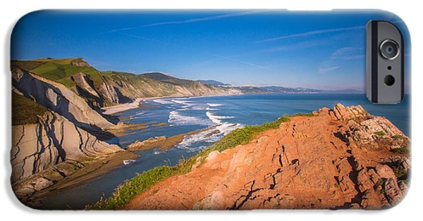 Morning iPhone Cases - Basque Country 11 iPhone Case by Mariusz Czajkowski