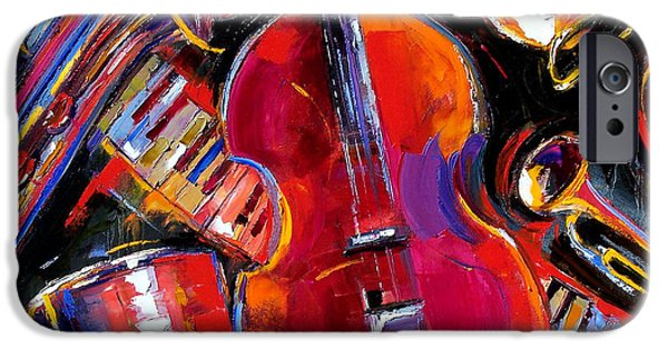 Piano iPhone Cases - Bass And Friends iPhone Case by Debra Hurd