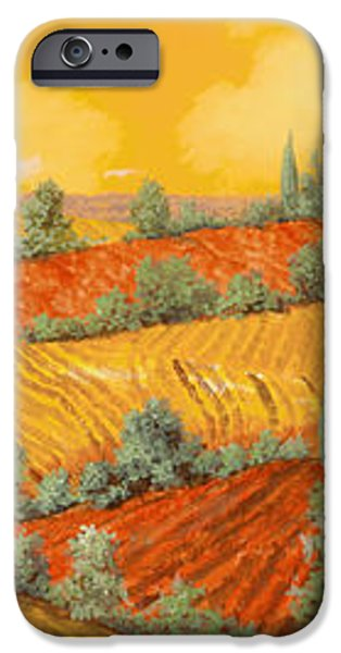 Bassa Toscana iPhone Case by Guido Borelli