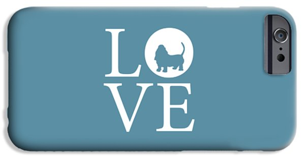 Owner Digital iPhone Cases - Bassett Love iPhone Case by Nancy Ingersoll