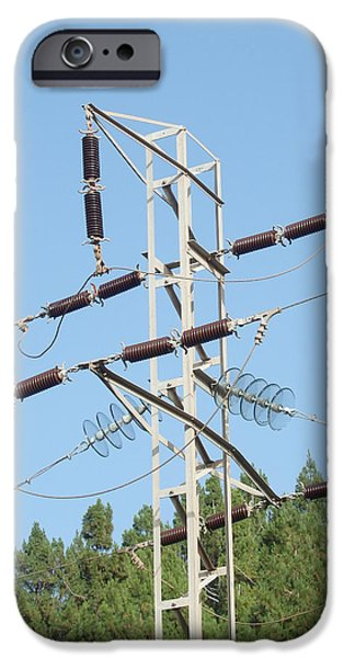 Electrical iPhone Cases - Bastion - Pylon Tower iPhone Case by Robert Schaelike
