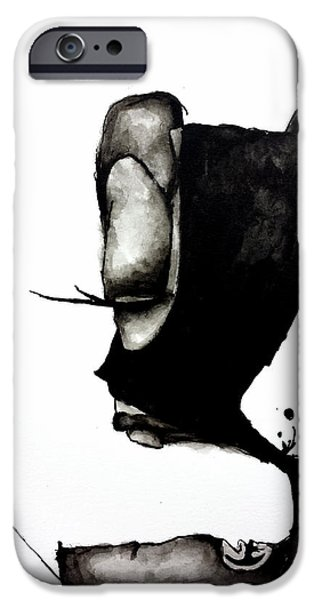 Abnormal iPhone Cases - Batboy iPhone Case by Nick Watts