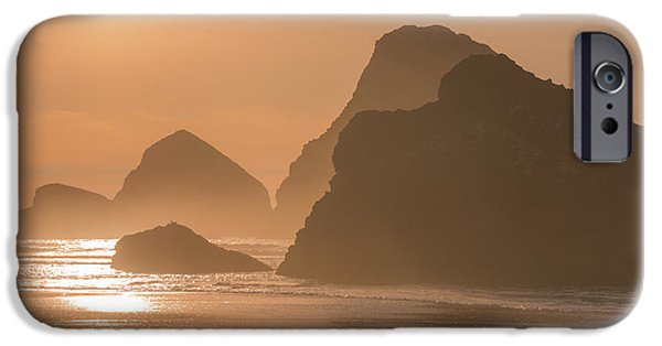 Pacific Ocean Prints iPhone Cases - Bathed in Light iPhone Case by Darren  White