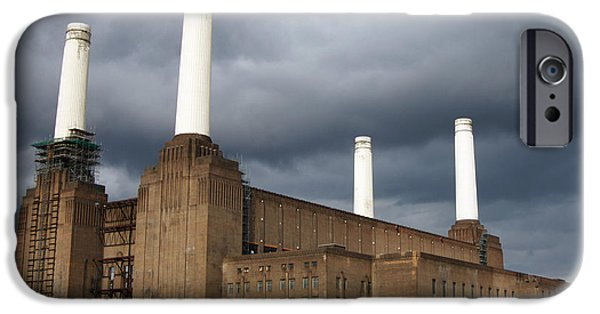Technological iPhone Cases - Battersea Power Station, London, Uk iPhone Case by Johnny Greig