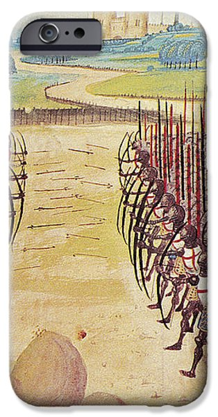 BATTLE OF AGINCOURT, 1415 iPhone Case by Granger