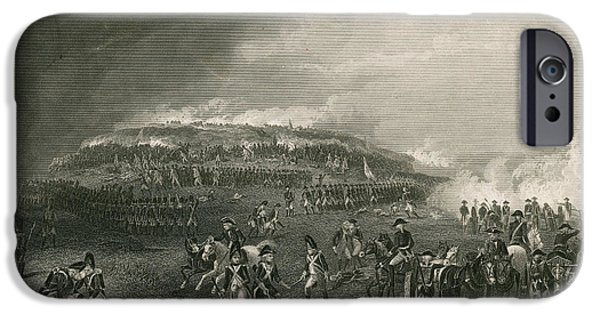 American Revolution iPhone Cases - Battle Of Bunker Hill, 1775 iPhone Case by Photo Researchers