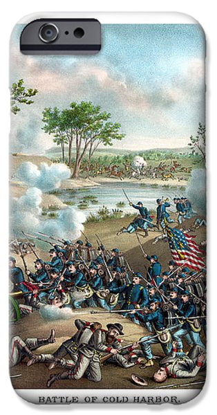 Battle of Cold Harbor iPhone Case by War Is Hell Store