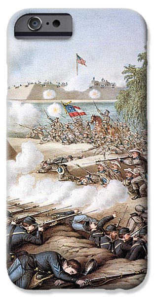 BATTLE OF CORINTH, 1862 iPhone Case by Granger
